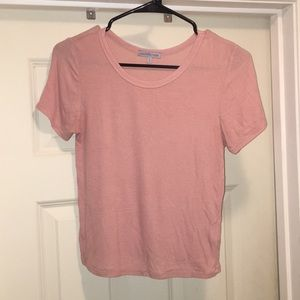 Muted pink crop top
